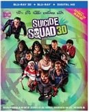 Suicide Squad 3D (Blu-ray 3D + Blu-ray + Digital HD) (Extended Cut)