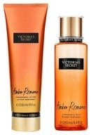 Victoria Secret Amber Romance Body Mist + Body Lotion
