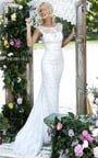 Elegant Long Sherri Hill 50069 Beads Cutout Online Ivory Dress Prom 2016 Season Online
