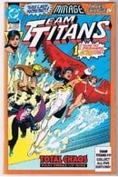 Team Titans (1992) #1B MIRAGE Cover