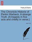 Perkin Warbeck Regents Renaissance Drama