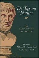 De Rerum Natura: The Latin Text of Lucretius (Latin and English Edition)