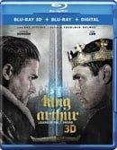 King Arthur: Legend of the Sword 3D (Blu-ray 3D + Blu-ray + Digital)