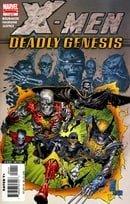 X-Men Deadly Genesis (2006) #1-6 Marvel 2006