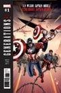 Generations: Sam Wilson Captain America & Steve Rogers Captain America (2017)