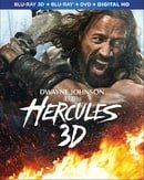 Hercules 3D (Blu-ray 3D + Blu-ray + DVD + Digital HD)