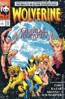 Wolverine Global Jeopardy (1993) #1 Marvel 1993