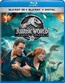 Jurassic World: Fallen Kingdom 3D (Blu-ray 3D + Blu-ray + Digital)