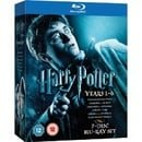 Harry Potter 1-6  [Region Free]
