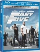 Fast Five (Blu-ray + DVD + Digital Copy) (Extended Edition)