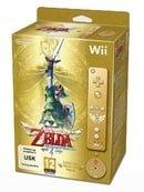 The Legend of Zelda: Skyward Sword - Limited Edition - Gold Wii Remote Bundle