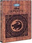 The Lion King Blu-ray SteelBook (2 Disc Diamond Edition Blu-ray 3D / Blu-ray) Import