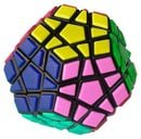Megaminx (Black and Tiled)