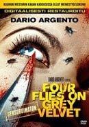 Four Flies On Grey Velvet  ( 4 mouches de velours gris )