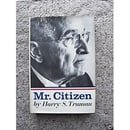 Mr. Citizen.