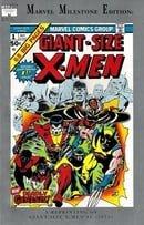 Mavel Milestone Edition Giant-Size X-Men #1