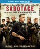 Sabotage (Blu-ray + DVD + UltraViolet Digital Copy)