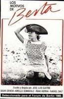 Los motivos de Berta                                  (1984)