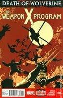 Death of Wolverine Weapon X Program (2014) #1-5