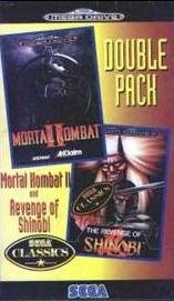 Double Pack: Mortal Kombat II / The Revenge of Shinobi