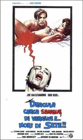 Blood for Dracula (Andy Warhol's Dracula)