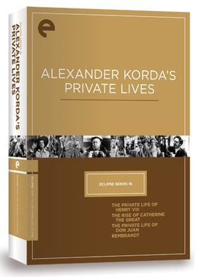 Eclipse Series 16 - Alexander Korda's Private Lives