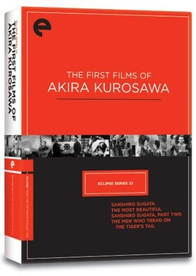 Eclipse Series 23 - The First Films of Akira Kurosawa