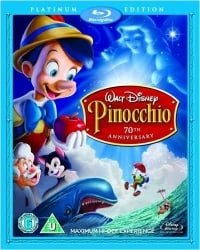 Pinocchio - 3-Disc Platinum Edition [Blu-ray + DVD]