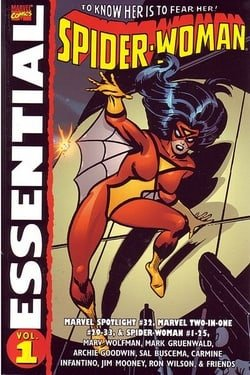 Essential Spider-Woman Volume 1 TPB: v. 1 (Essential (Marvel Comics))