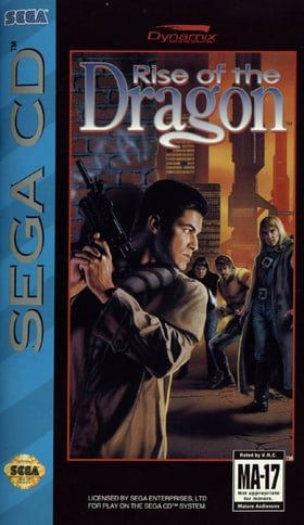 Rise of the Dragon (Sega CD, 1992)
