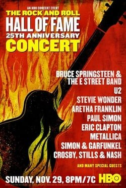 The 25th Anniversary Rock and Roll Hall of Fame Concert