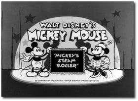 Mickey's Steam Roller