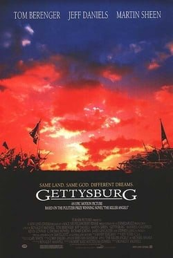 gettysburg movie review Directed by ron maxwell with tom berenger, martin sheen, stephen lang, richard jordan in 1863, the northern and southern forces fight at gettysburg in the decisive.