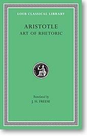 Aristotle, XXII: Art of Rhetoric (Loeb Classical Library)