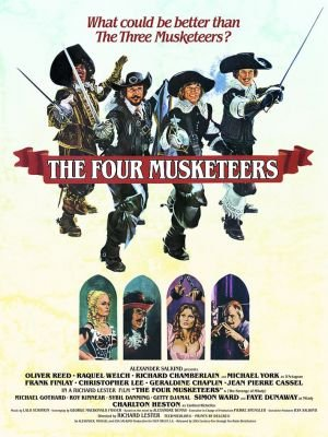 the four musketeers 1974The Four Musketeers 1974