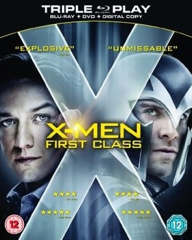 X-Men: First Class - Triple Play (Blu-ray + DVD + Digital Copy)