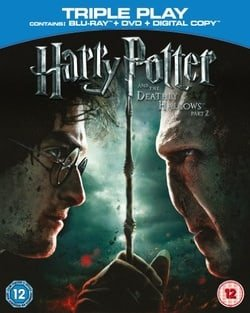 Harry Potter And The Deathly Hallows Part 2 - Triple Play (Blu-ray + DVD + Digital Copy)  [Region Fr