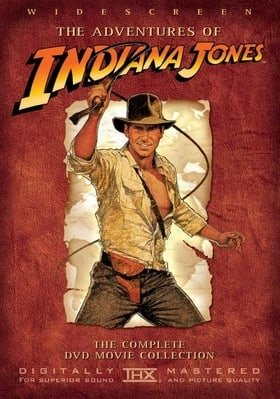 The Adventures of Indiana Jones: The Complete DVD Movie Collection