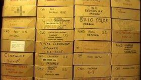 Stanley Kubrick's Boxes