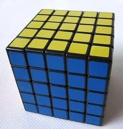 5x5x5 Rubik's Cube (ShengShou) Black