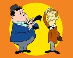 A Laurel and Hardy Cartoon
