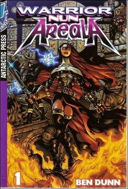 Warrior Nun Areala Color Manga #1: No. 1