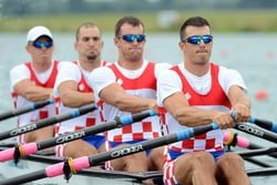 Croatian Quad Scull