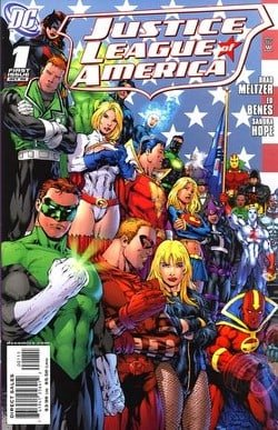 Justice League of America # 1 (Green Lantern Cover)