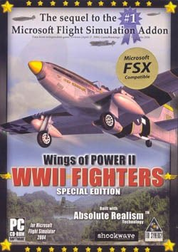 Wings of Power II: WWII Fighters (FSX Add-on)