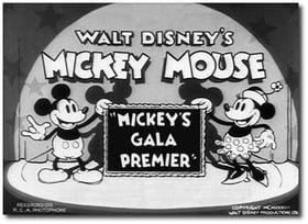 Mickey's Gala Premier