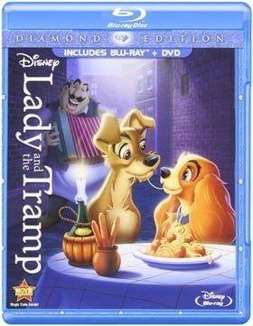 Lady and the Tramp (Diamond Edition Two-Disc Blu-ray/DVD Combo in Blu-ray Packaging)