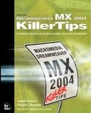 Macromedia Dreamweaver MX 2004 Killer Tips: The hottest collection of cool tips and hidden secrets f