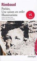 Poesies: Une Saison En Enfer Illuminations (Folio (Domaine Public))