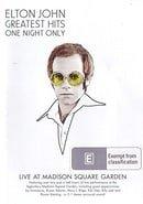 Elton John - Greatest Hits One Night Only